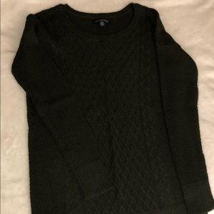 Hunter Green American Eagle Sweater